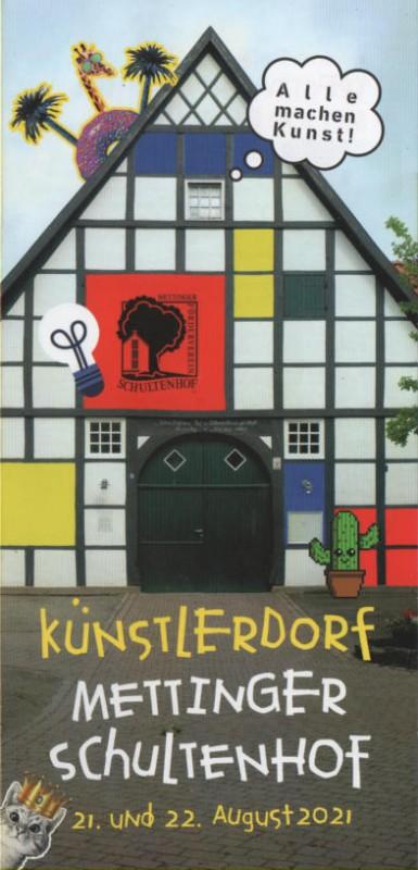 Angebote im Künstlerdorf 2021 am 21. und 22.8.2021